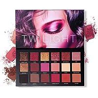 UCANBE Professional 18 Pigmented Eye shadow, 10 Matte + 8 Shimmer, Velvet Texture Blendable
