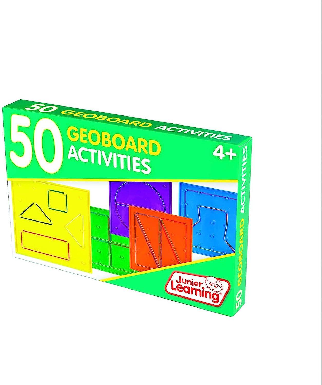 Junior Learning JL342 50 Geoboard Activities Multi