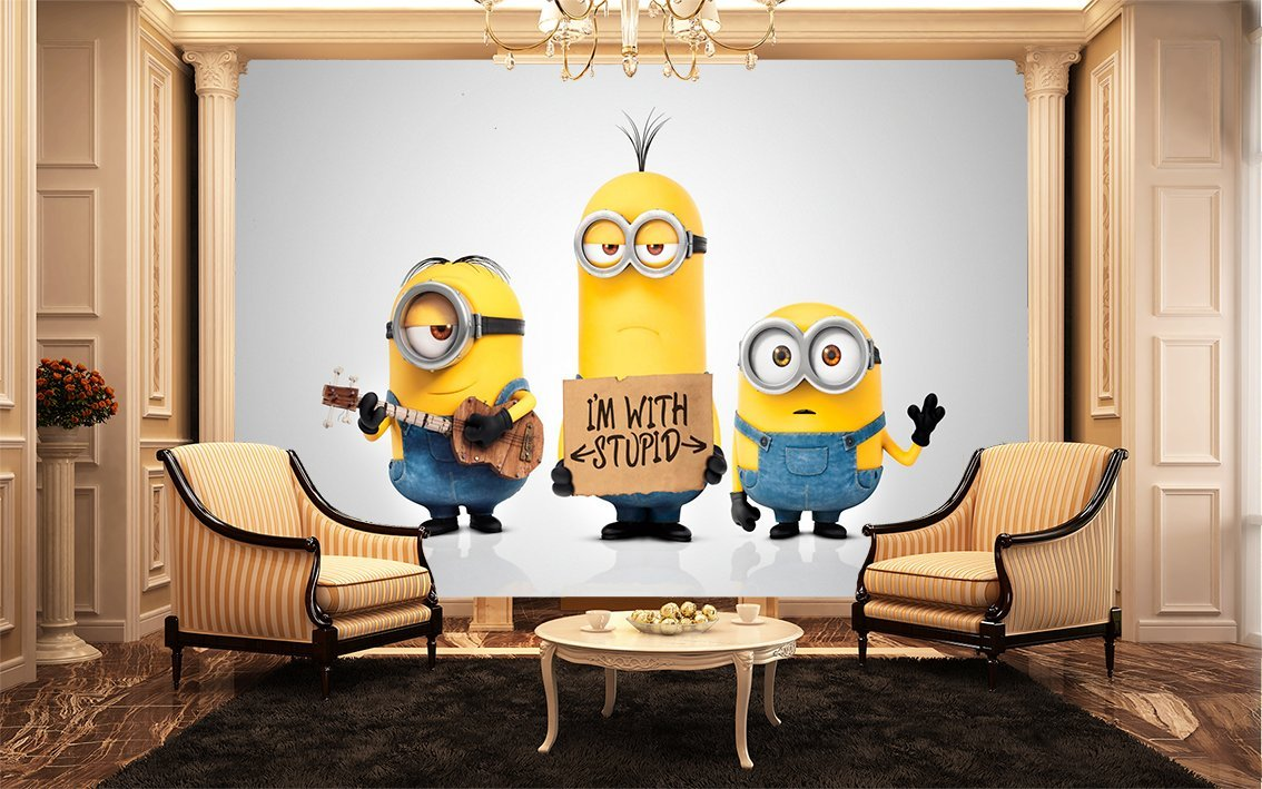 Minions 2015 wall mural kids wall murals amazon kitchen minions 2015 wall mural kids wall murals amazon kitchen home amipublicfo Images