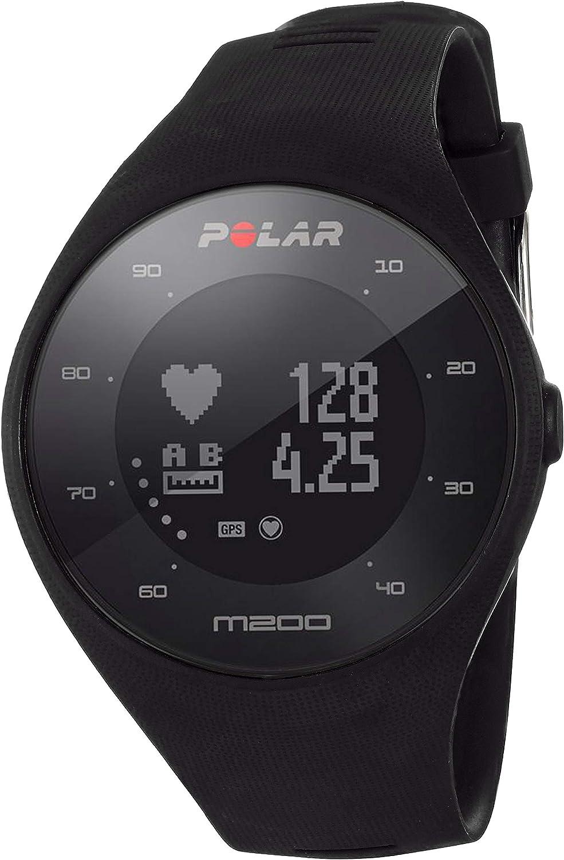 Polar M200 - Reloj de Carrera con GPS y frecuencia cardíaca en la muñeca, Unisex Adulto