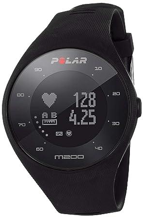 83a32f7855d9 Polar M200 - Reloj de Running con GPS y Frecuencia cardíaca en la muñeca -  Actividad 24 7 - Negro