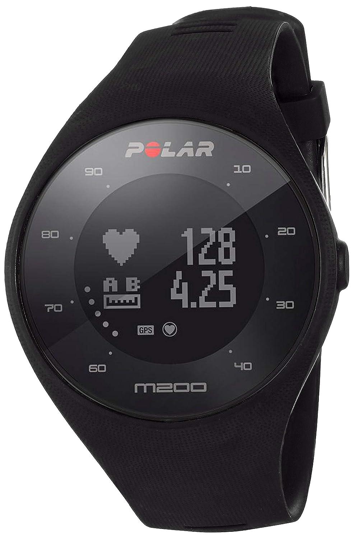 POLAR M200 GPS Running Watch, Black, One Size