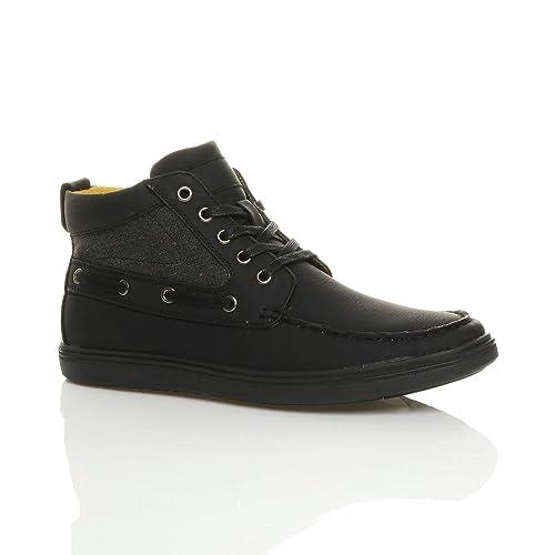Chaussures à lacets Ajvani noires homme XQnyROj6k