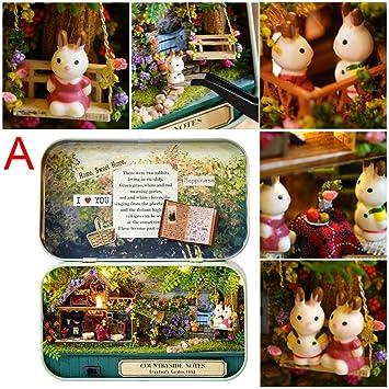 Oddity - Kit de muebles para casa de muñecas en miniatura ...