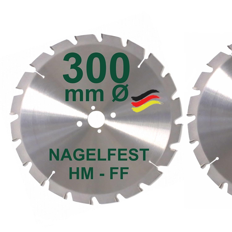 300 x 30 mm bausupermarkt de uñas a FF sierra circular 300 mm para ...