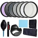 Kit para Fotografia Docooler, com Lente, Filtro Completo 58mm