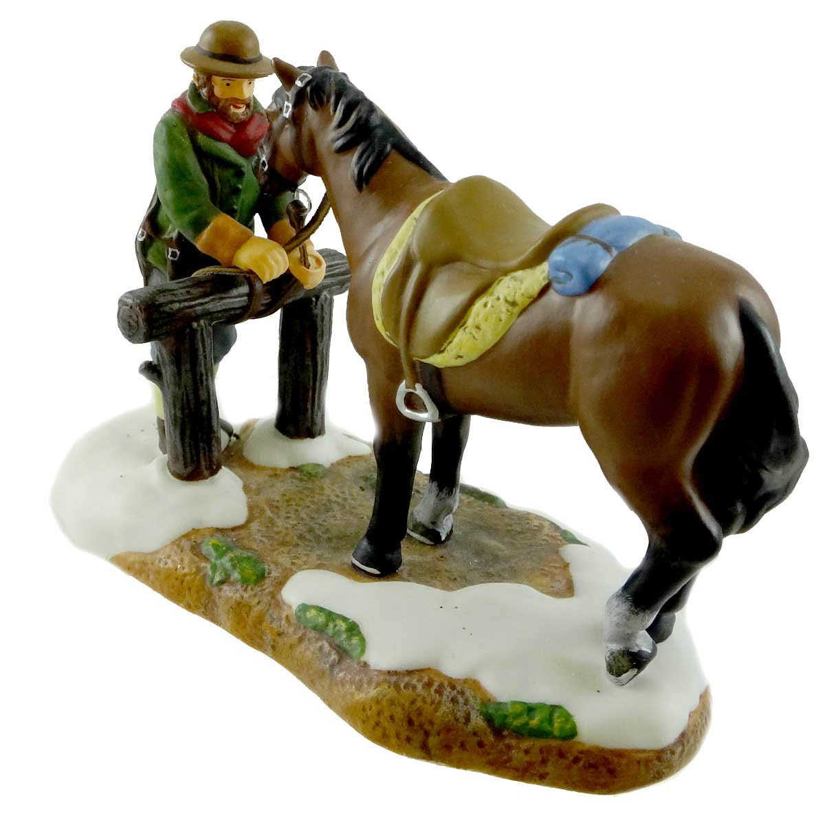 Amazon com: Dept 56 Accessories The Hitching Post New