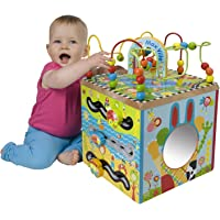 ALEX Jr. Maxville Wooden Activity Cube