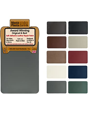 MastaPlasta Self-Adhesive Leather Repair Patch. XL 28cmx20cm. Choose Colour. First-