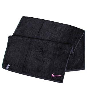 Nike Toalla de Manos Deportiva Toalla Premier para Ejercicio 40x80 cm - Negro, 40 x