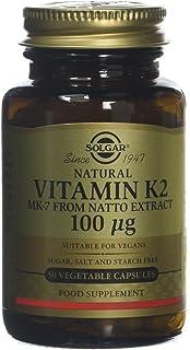 Solgar Vitamina K2 (MK-7) Natural 100 µg Cápsulas vegetales - Envase de
