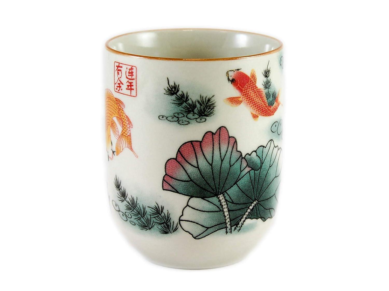 Carp Design Chinese Tea Cup