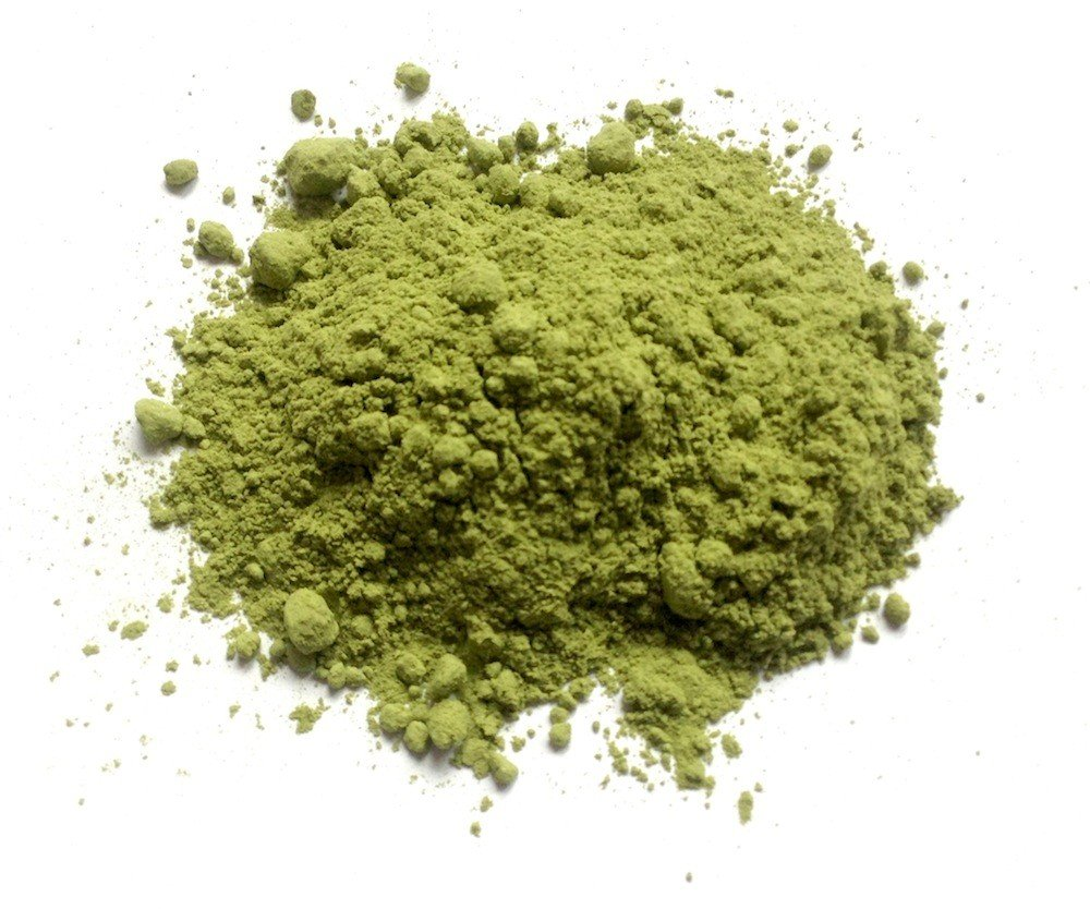 Organic Green Superfood Powder (14 Super-Foods - Spirulina, Wheatgrass, etc) 1 lb./16 oz (448g.)