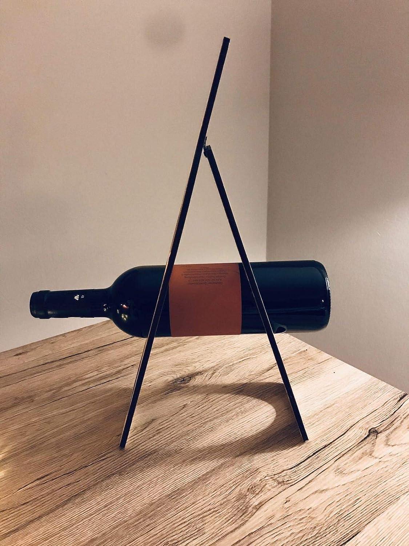 Weinst/änder Flaschenhalter. Deko Flaschenst/änder f/ür 3 Flaschen Granatan Weinflaschenhalter Holz