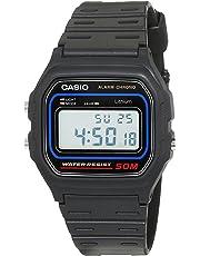 Casio - W-59-1VQES - Vintage - Montre Mixte - Quartz Digital - Cadran LCD - Bracelet Résine Noir