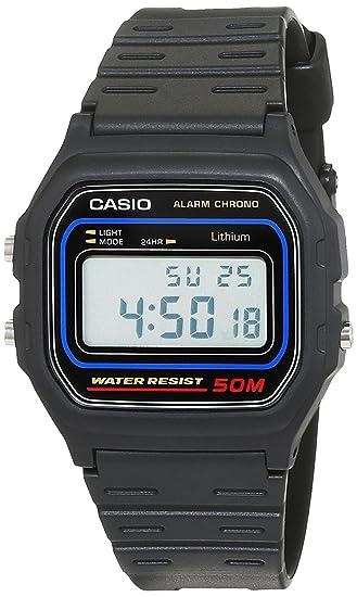 38a0605e6b46 Casio Reloj de Pulsera W59-1V  Casio  Amazon.es  Relojes