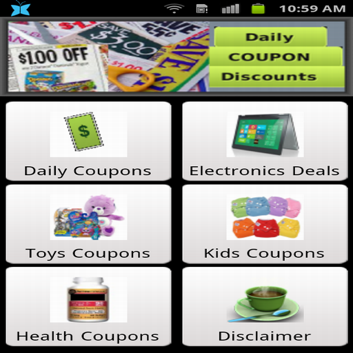 Daily Coupons and Discounts (Coupon Sale Daily)