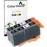 Colour Direct 2 x Photo Black 364 XL Compatible Ink Cartridge Replacement For HP Photosmart 7510, 7520, B8550, B8553, C5380, C5383, C5390, C6300, C6380, D5460, D5463, D5468, D7560, Photosmart eStation C510, C510a, Photosmart Premium C309, C309g, C309h, C309n, C310, C310a, C309a, C309c, C410b Printers