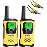 Amazon Price History for:E-wor Walkie Talkies For Kids,22 Channels FRS/GMRS UHF Kids Walkie Talkies, 2 Way Radios 4 Miles Long Range Rechargeable Walkie Talkies Kids Best Birthday Gift Toys With Flashlight,1 Pair(Yellow)