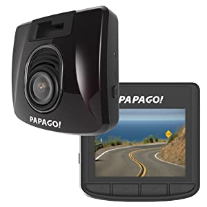 PAPAGO Car Dash Camera GoSafe S30 Full HD Dash Cam 1080P Car DVR with GPS Option, SONY EXMOR SENSOR, Night Vision, Free 8GB Micro SD Card GSS308G
