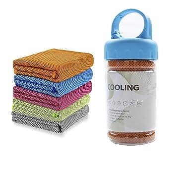 Refrigeración toalla sudor Deportes toallas de microfibra para golf entrenamiento natación gimnasio Yoga viaje Camping Fitness