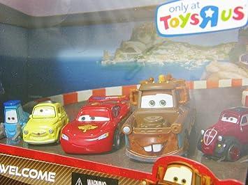 Mattel Pack 5 Coches Cars - Porto Corsa: Amazon.es: Juguetes y juegos