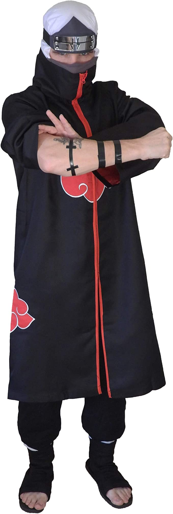 Amazon.com: DAZCOS - Disfraz de Akatsuki para cosplay ...
