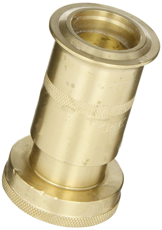 Dixon Valve BRN150NST Brass Fire Equipment, Rack Nozzle, 1-1/2'' NST (NH) Thread
