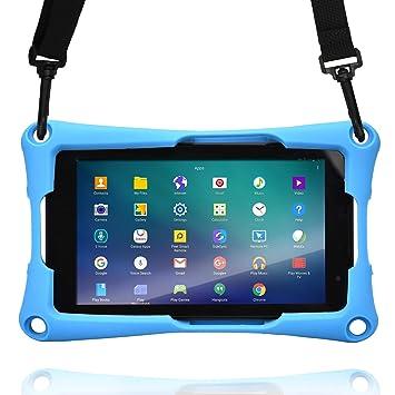 7 Tablet Funda, Cooper Trooper 2K Funda Protectora Robusta de Gran Resistencia con asa para Colgar del Hombro y Soporte Incorporado para 7 ...