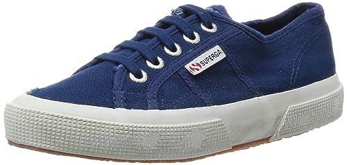 Shoes Le Superga - 2750-cotustonewash - Blue mid - 36