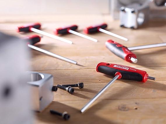 Wiha Stiftschlüssel Quergriff Set ComfortGrip TORX 6-tlg Seitenabtrieb verchromt