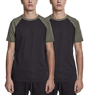 Urban Classics Mens Raglan Contrast Tee T-Shirt