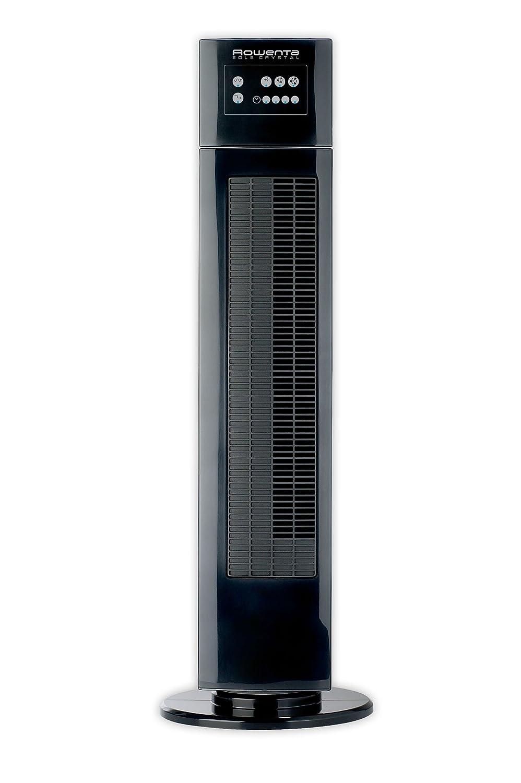 pl/ástico oscilaci/ón Negro Rowenta VU6520 VU6520-Ventilador Torre Eole 88cm Temporizador hasta 8 Horas Metal 40 W 3 Velocidades