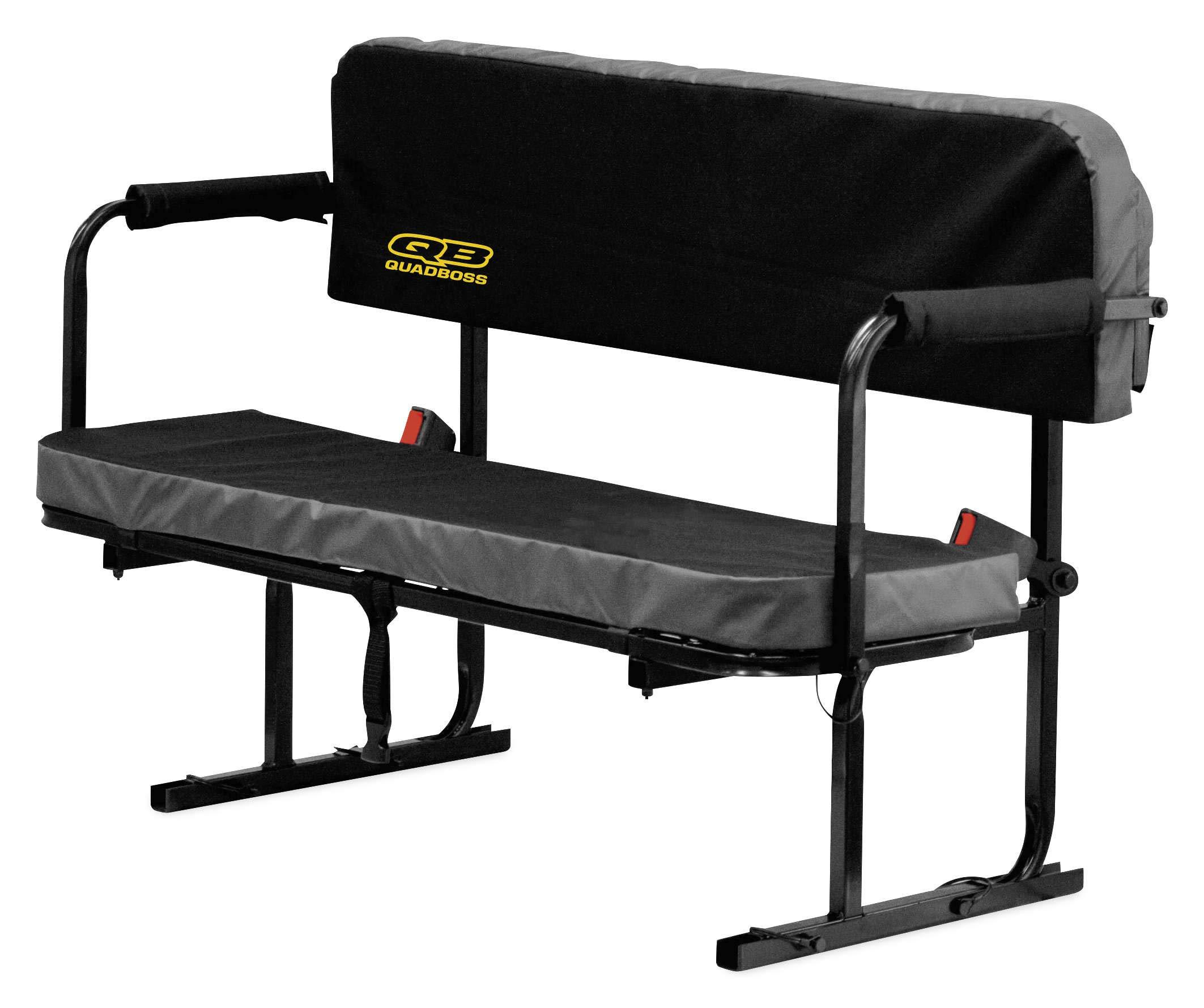 QuadBoss UTV Jump Seat (Black)