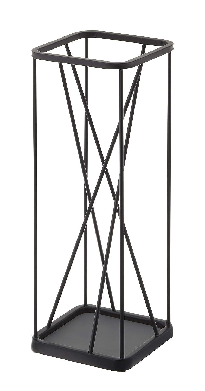 YAMAZAKI home 2808 Umbrella Stand Holder-Storage for Umbrellas & Walking Canes, Black, Large