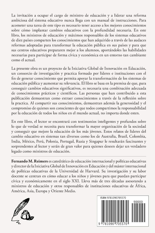 Cartas a un nuevo Ministro de Educacion (Spanish Edition ...