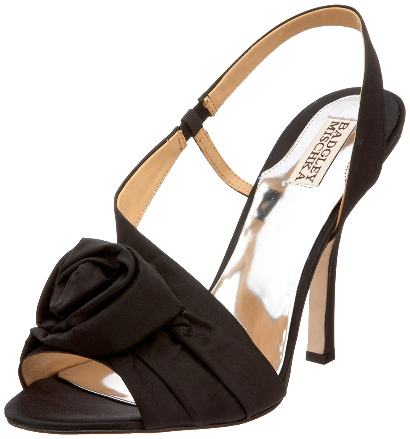 Amazon Badgley Mischka Women s Lanah Slingback Sandal