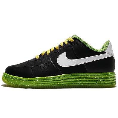 brand new 966db e9765 Nike Men s Lunar Force 1 NS PRM, BLACK WHITE GREEN, ...