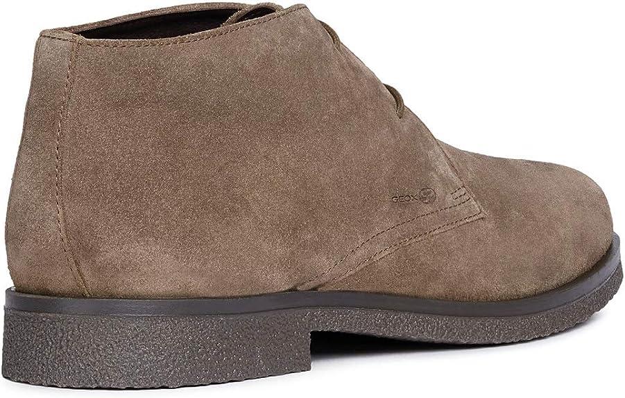 Geox U9458B 00022 Ankle Man Braun 39: : Schuhe