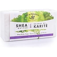 Pre de Provence Soothing & Moisturizing 20% Pure Shea Butter Soap Bar (150 g) - Lavender
