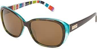 Kate Spade New York Women's Hilde Polarized Cat-Eye Sunglasses