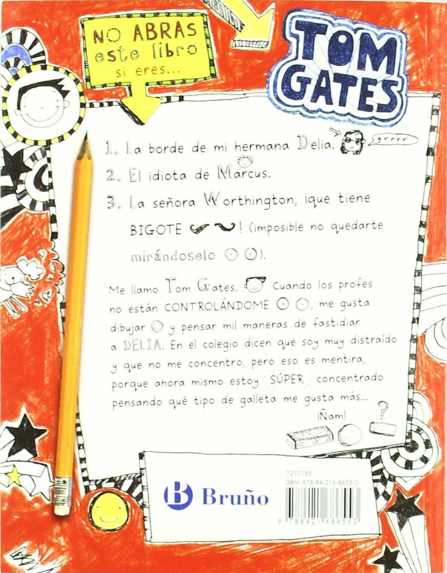 El genial mundo de Tom Gates Castellano - A Partir De 10 Años - Personajes  Y Series - Tom Gates: Amazon.es: Liz Pichon, Daniel Cortés Coronas: Libros