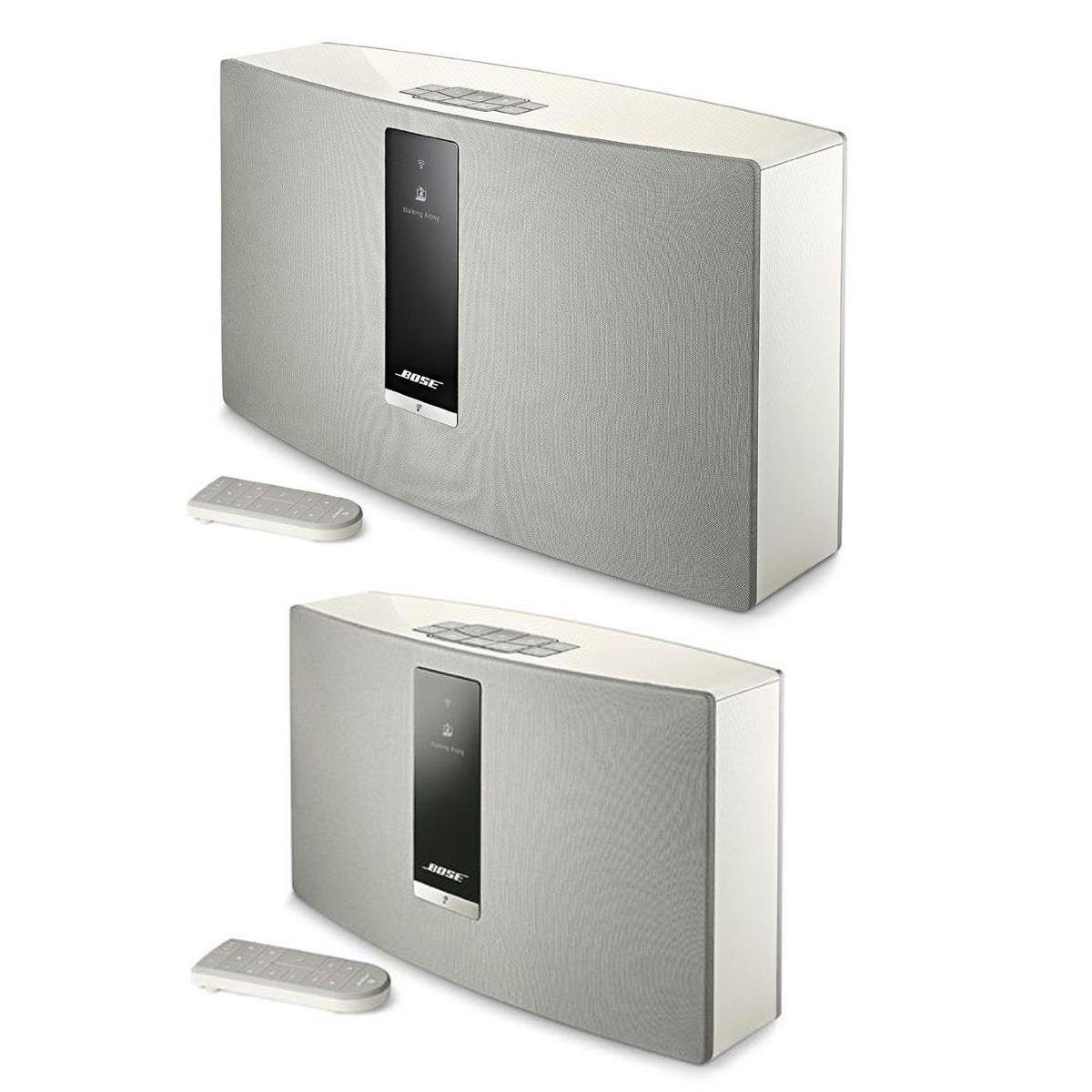 bose soundtouch 30 series iii wireless music system with remote control white with soundtouch. Black Bedroom Furniture Sets. Home Design Ideas