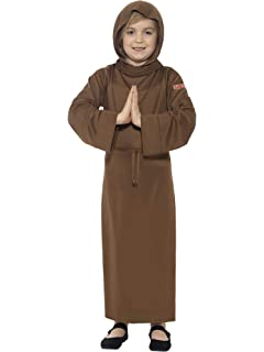 Smiffys Monk - Horrible Histories - Niños Disfraz - Grande - 158cm - Edad 10-
