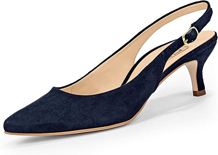 Paul Green 7270-04 Blue Suede Leather