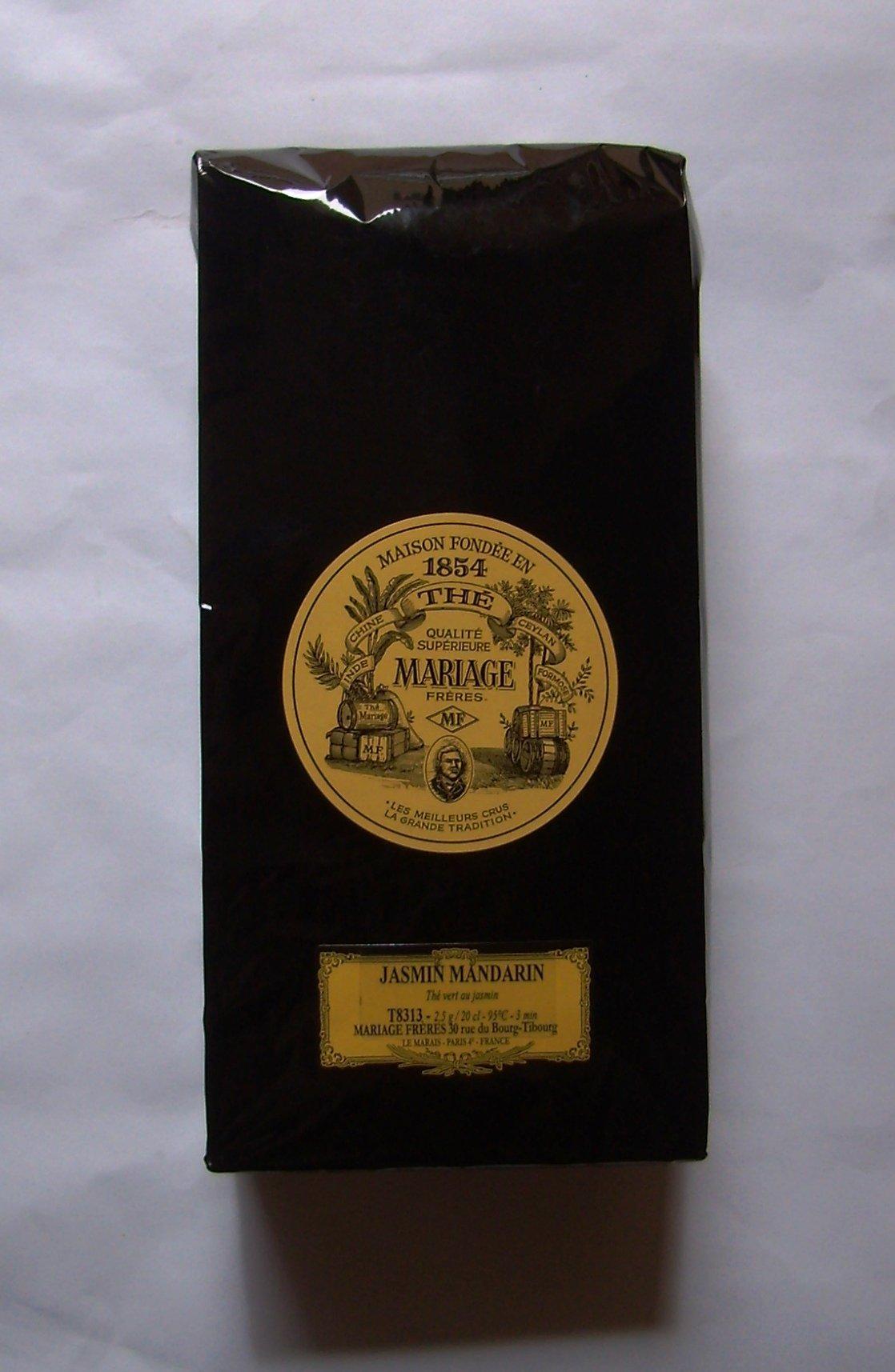 Mariage Frères - JASMIN MANDARIN® - LOOSE LEAF BAG - 17.63oz / 500gr