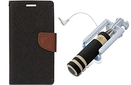 Novo Style Fancy Diary Wallet Flip Cover for Sony: Amazon in