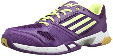 new concept 76c88 2baf4 adidas Volley Team D66801 Damen Volleyballschuhe, Violett (tribe purple  s14running white