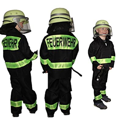 Feuerwehrmann Fasching Kostüm