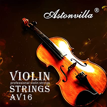 E-A-D-G Violin Fiddle String Strings Steel Core Nickel-silver Wound for 4//4 3//4 1//2 1//4 Violins ammoon Universal Full Set